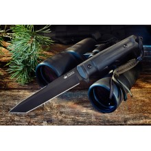 """Aggressor"" Black (AUS-8 Steel)"